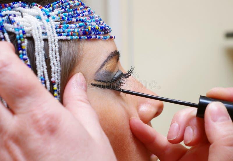 Νέο μάτι γυναικών στοκ φωτογραφία