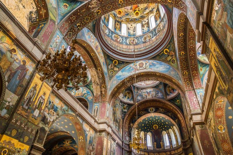 Νέο μοναστήρι Athos Αμπχαζία στοκ φωτογραφία με δικαίωμα ελεύθερης χρήσης