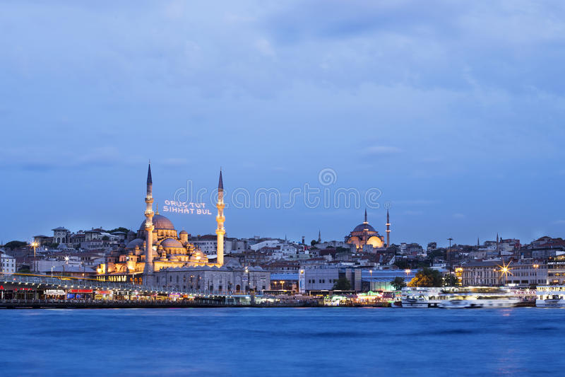 Νέο μουσουλμανικό τέμενος (Ιστανμπούλ) στοκ φωτογραφία με δικαίωμα ελεύθερης χρήσης