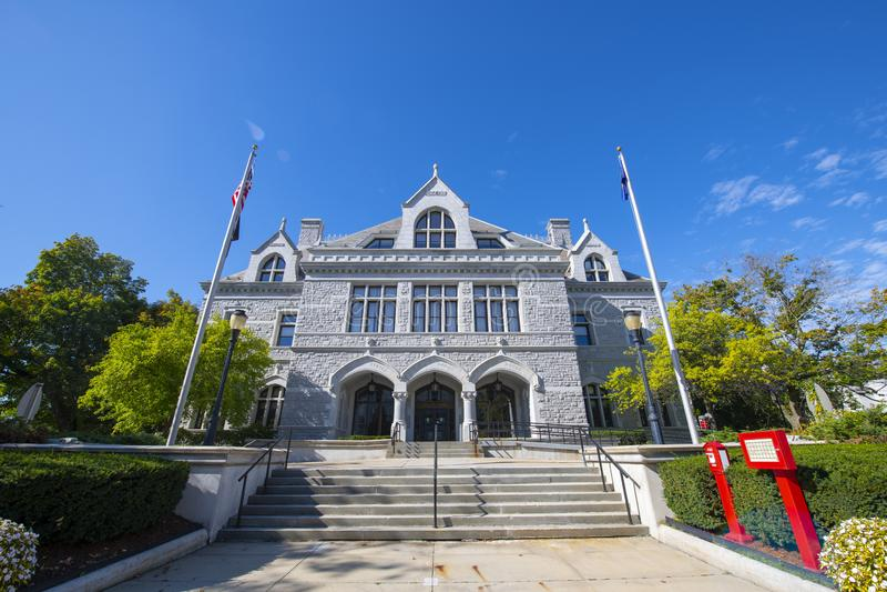 Νέο Νομοθετικό Γραφείο του Hampshire, Concord, NH, ΗΠΑ στοκ εικόνα