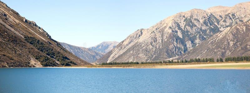 νέο πέρασμα PEARSON s Ζηλανδία λιμνών αρθούρου στοκ φωτογραφία με δικαίωμα ελεύθερης χρήσης