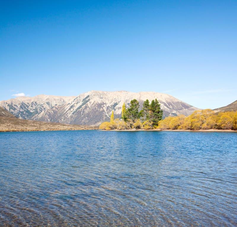 νέο πέρασμα PEARSON s Ζηλανδία λιμνών αρθούρου στοκ φωτογραφίες με δικαίωμα ελεύθερης χρήσης