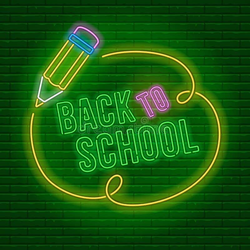 Νέο πίσω στο σχολείο ελεύθερη απεικόνιση δικαιώματος