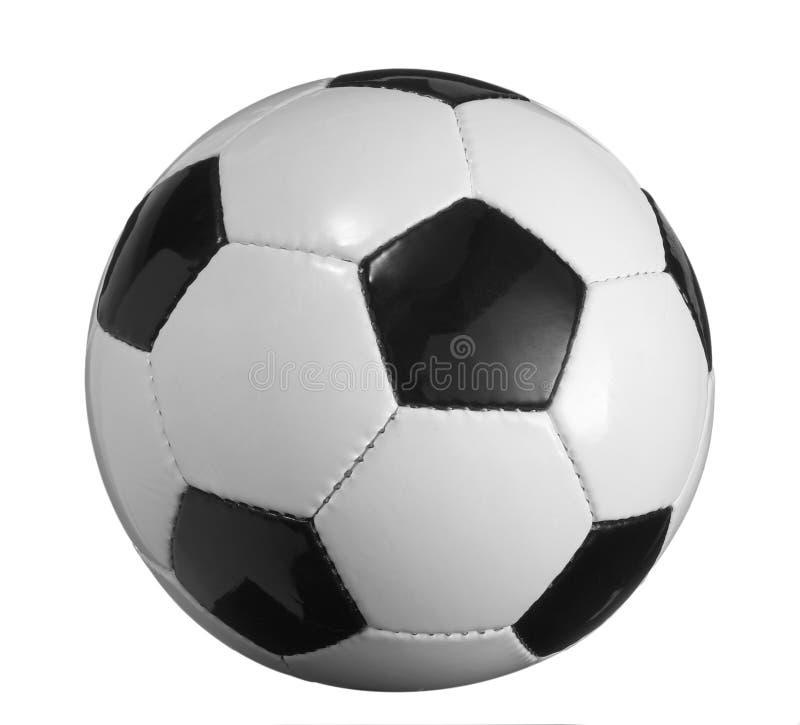 νέο ποδόσφαιρο σφαιρών στοκ φωτογραφία με δικαίωμα ελεύθερης χρήσης