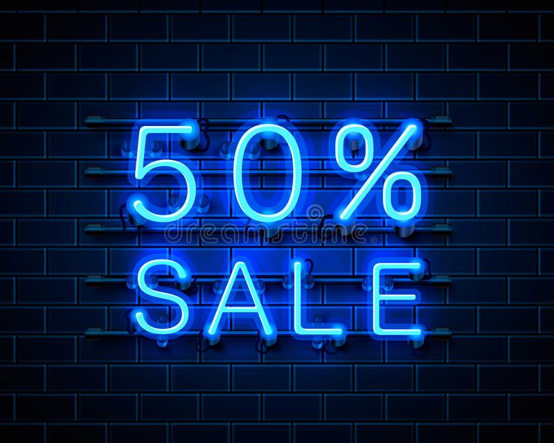 Νέο 50 πώληση απεικόνιση αποθεμάτων