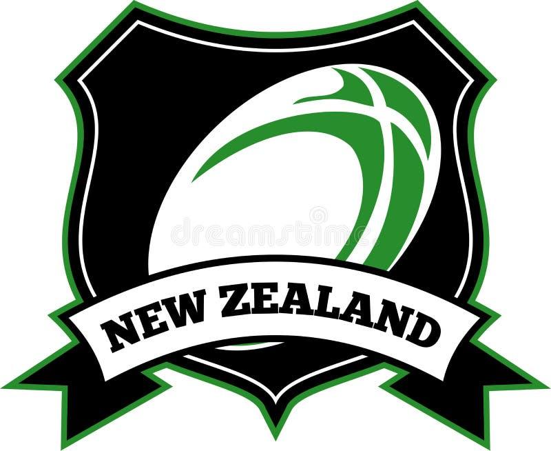Download νέο ράγκμπι Ζηλανδία σφαιρώ&nu Απεικόνιση αποθεμάτων - εικονογραφία από ζηλανδία, ασπίδα: 17053281