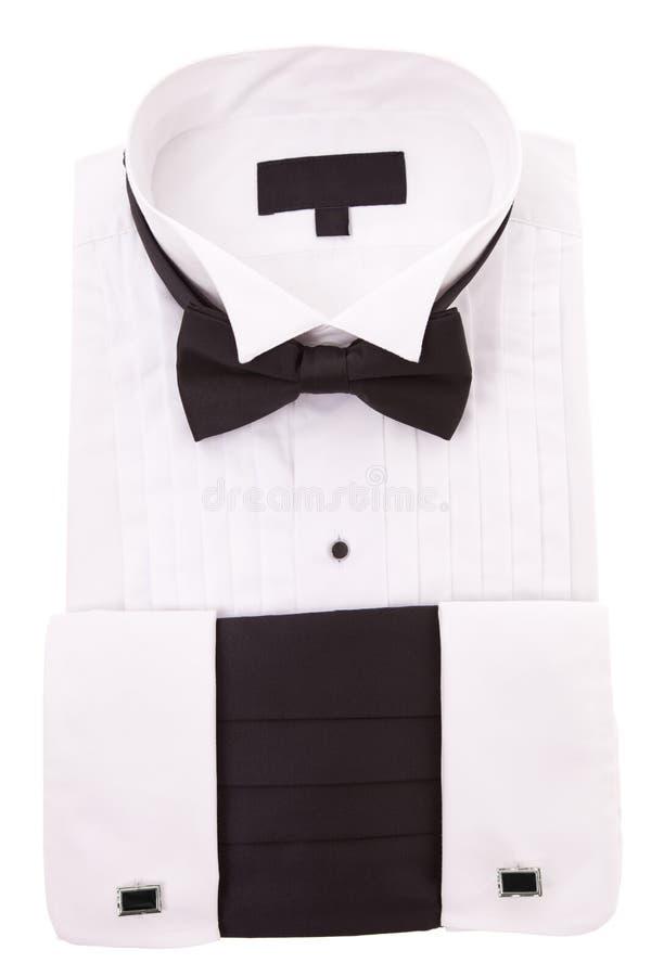 νέο σμόκιν πουκάμισων στοκ φωτογραφία με δικαίωμα ελεύθερης χρήσης