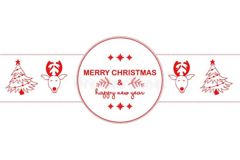 Νέο υπόβαθρο έτους 2019 με τους κόκκινους αριθμούς, παιχνίδια Χριστουγέννων, καραμέλα, Santa, κερί στο άσπρο υπόβαθρο Νέα σύνθεση ελεύθερη απεικόνιση δικαιώματος