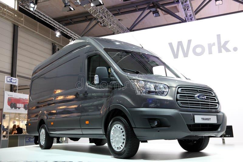 Νέο φορτηγό διέλευσης διάβασης στοκ εικόνες με δικαίωμα ελεύθερης χρήσης