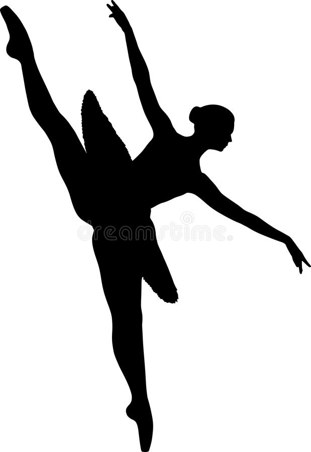 Νέο ballerina σε ένα tutu ελεύθερη απεικόνιση δικαιώματος