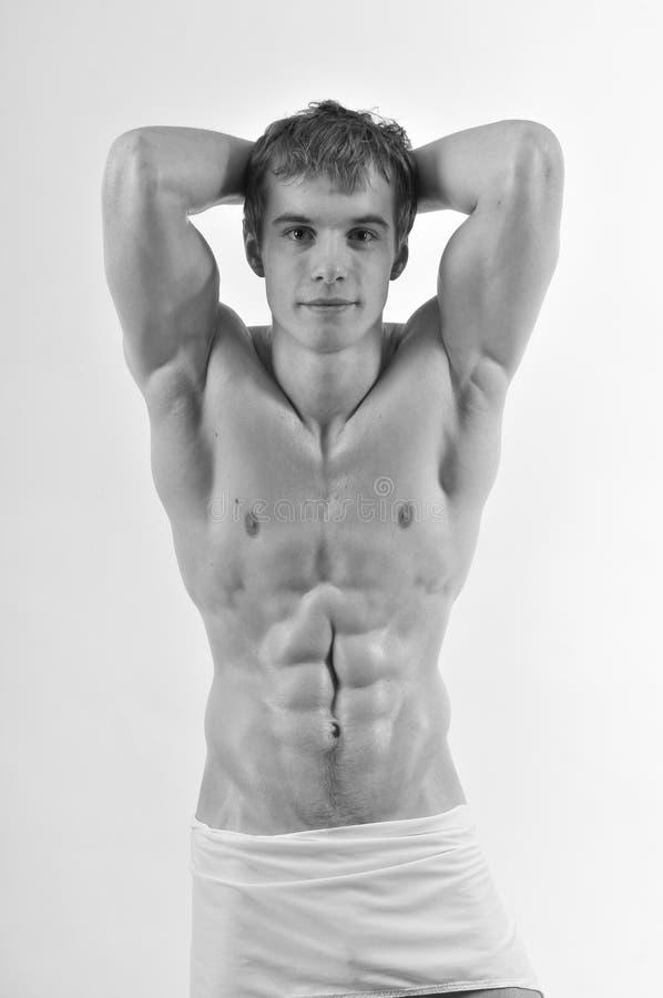 Νέο bodybuilder στοκ εικόνες