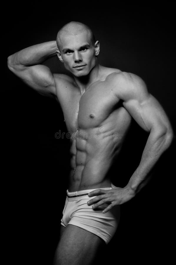 Νέο bodybuilder στοκ εικόνα με δικαίωμα ελεύθερης χρήσης