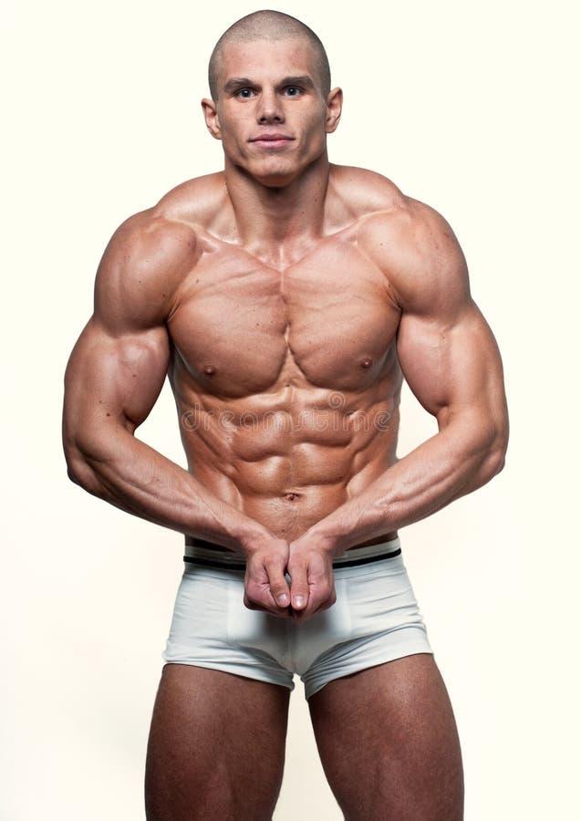 Νέο bodybuilder στοκ φωτογραφίες