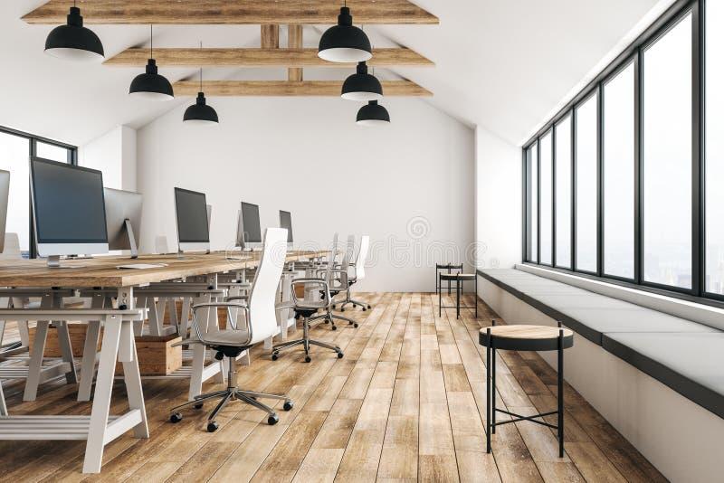 Νέο coworking γραφείο διανυσματική απεικόνιση