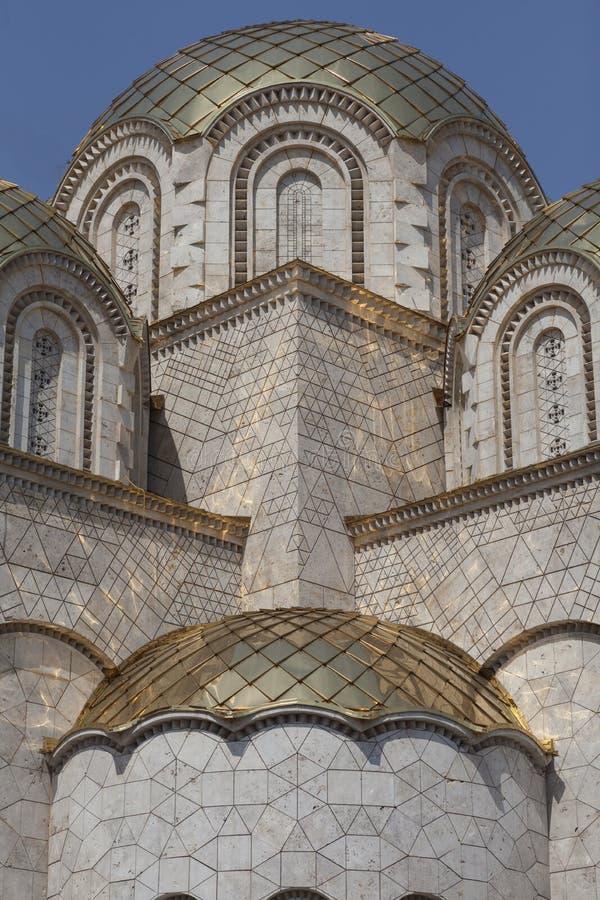 Νέο mosquee στο κεφάλαιο της Μακεδονίας ` s skopje στοκ εικόνες