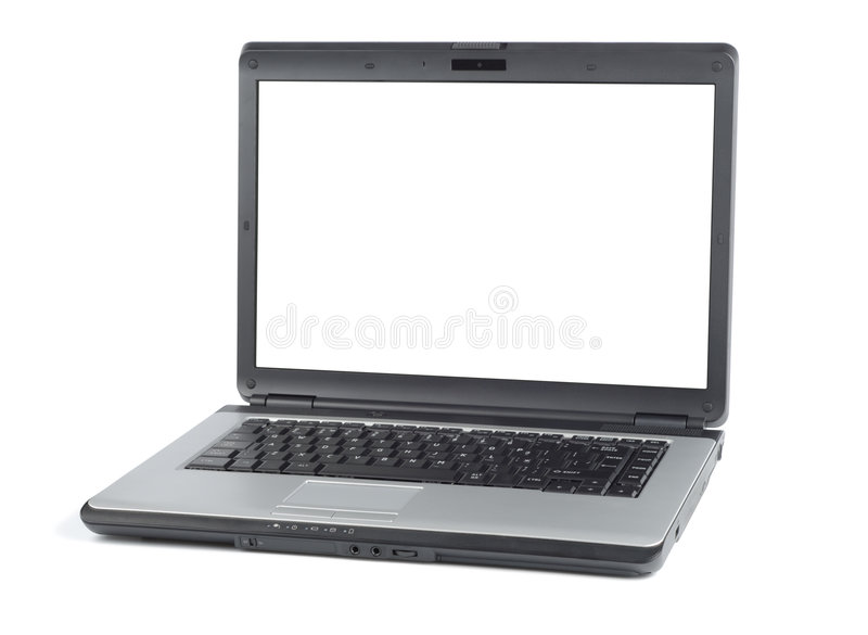 νέο PC φορητό στοκ εικόνες