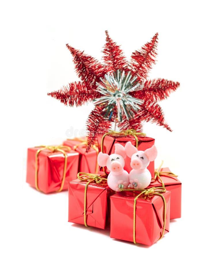Download νέο s έτος καρτών στοκ εικόνες. εικόνα από χριστούγεννα - 1526764