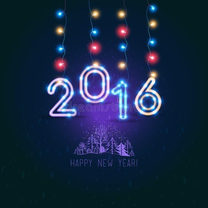 νέο s έτος σχεδίου ελεύθερη απεικόνιση δικαιώματος