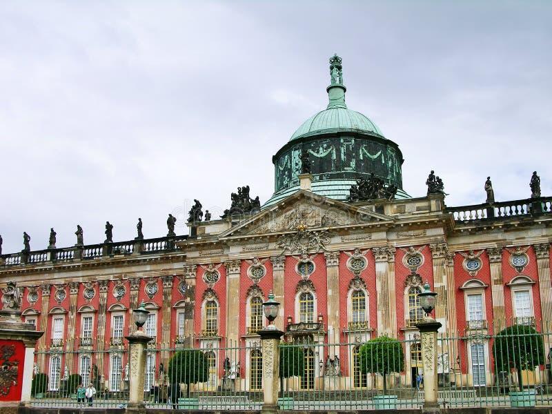 νέο sanssouci του Πότσνταμ παλατιών στοκ εικόνες