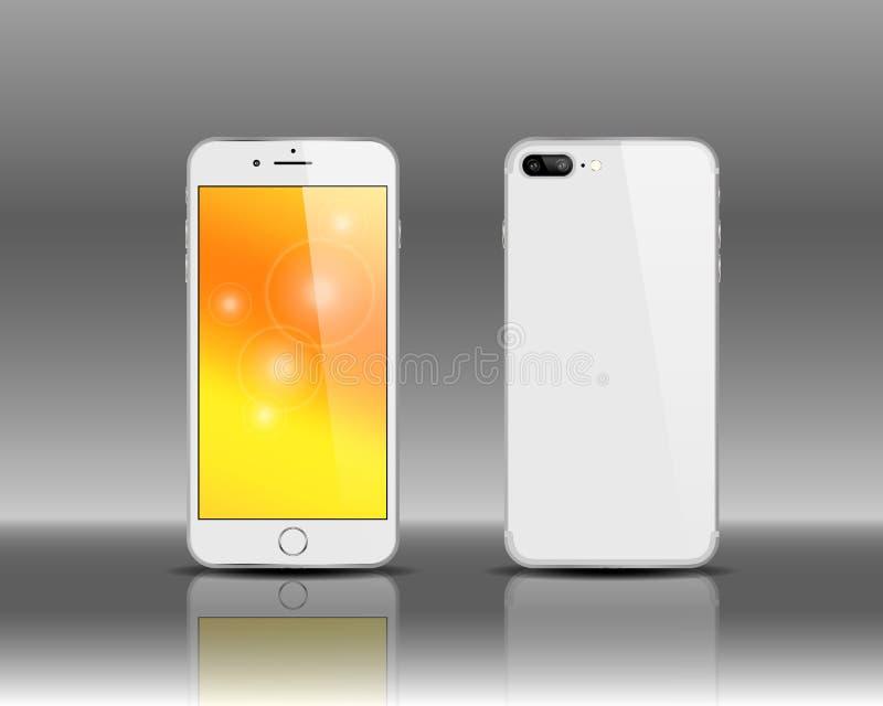 Νέο smartphone σχεδίου στοκ εικόνες