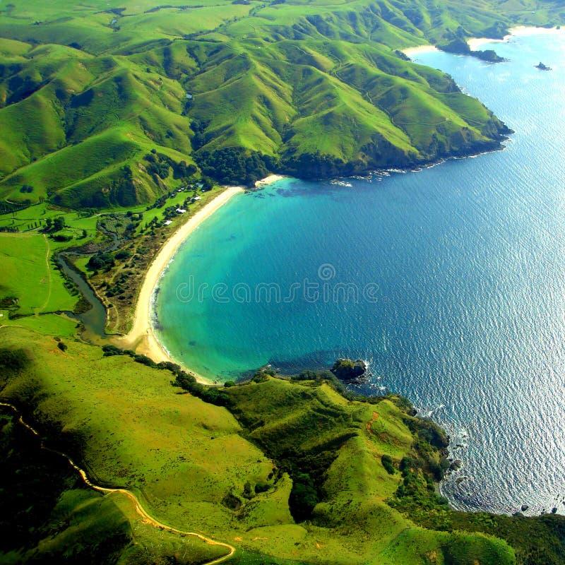 νέο taupo Ζηλανδία κόλπων στοκ εικόνες