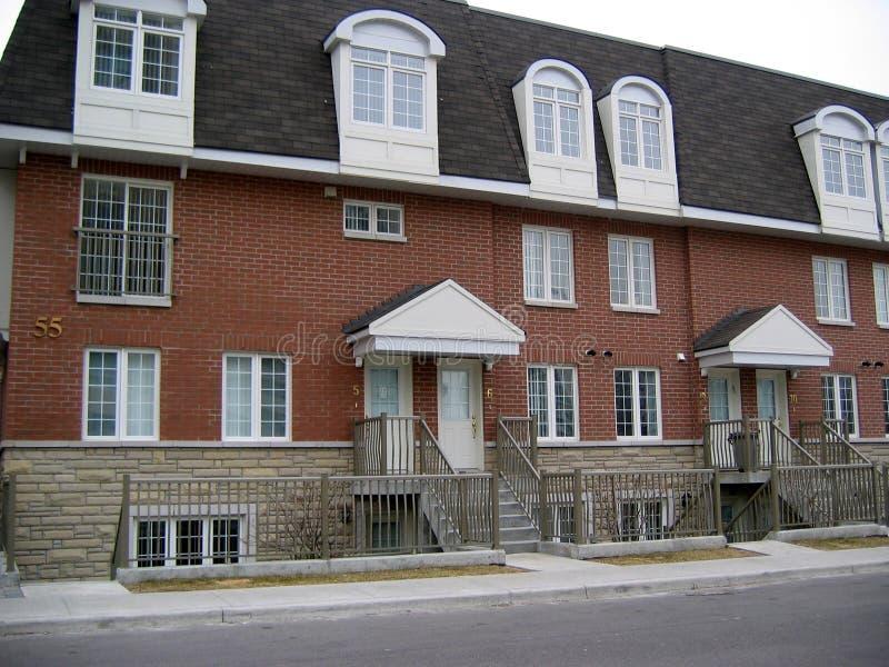 νέο townhouse στοκ εικόνα