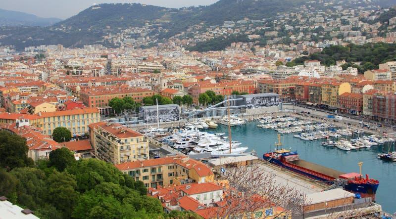 Νίκαια, Γαλλία - λιμένας στοκ φωτογραφία