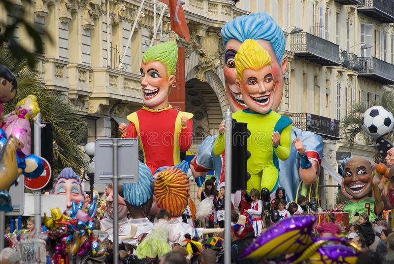 Νίκαια καρναβάλι στοκ εικόνα με δικαίωμα ελεύθερης χρήσης