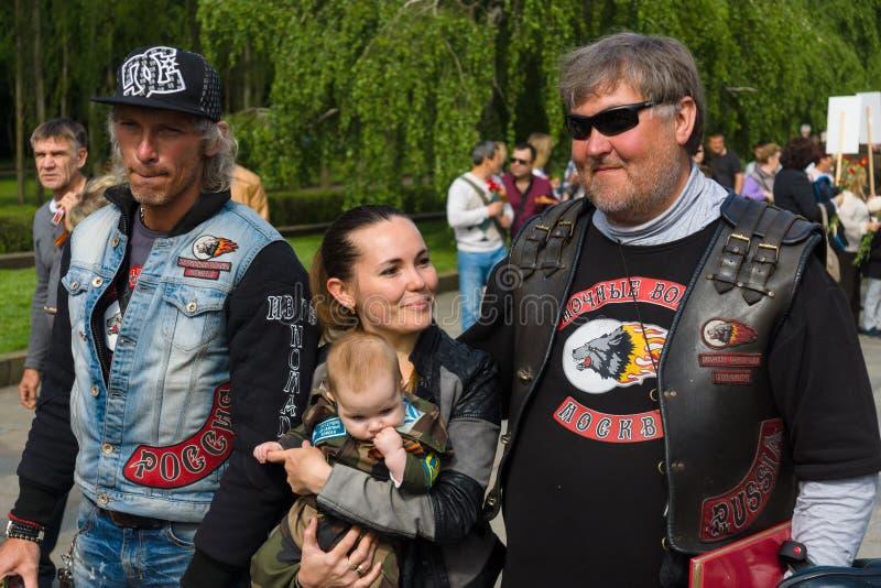 Νίκη ημέρα ( Στις 9 Μαΐου )  στο πάρκο Treptower Βερολίνο Γερμανία στοκ εικόνες με δικαίωμα ελεύθερης χρήσης