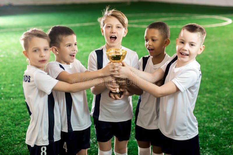 νίκη ομάδων στοκ φωτογραφία