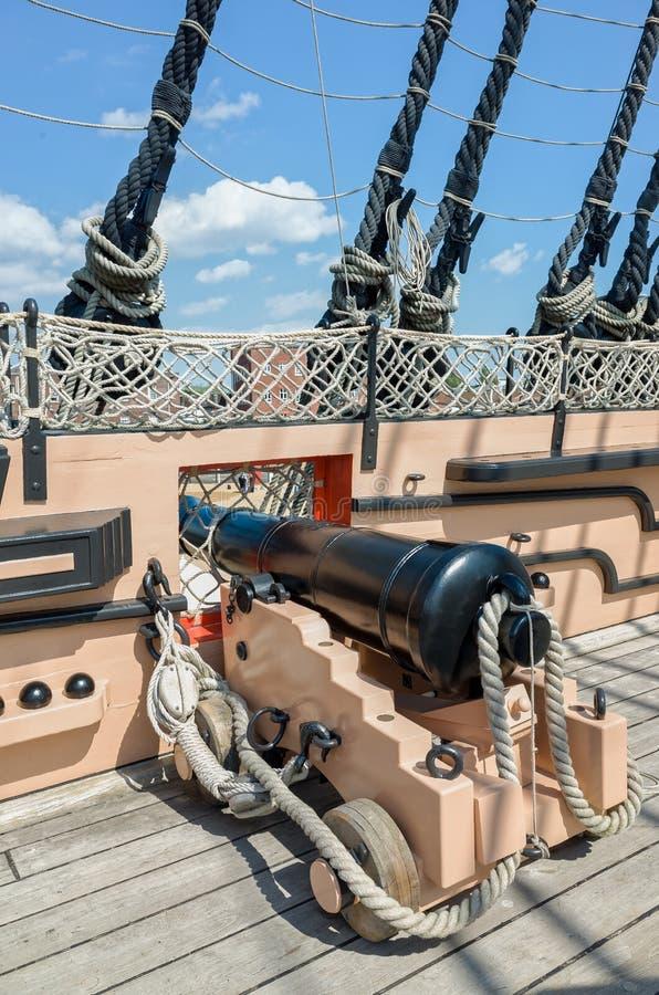 Νίκη Πόρτσμουθ Αγγλία HMS στοκ εικόνα με δικαίωμα ελεύθερης χρήσης