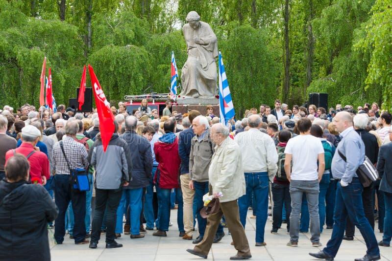 Νίκη στην ημέρα της Ευρώπης στοκ φωτογραφίες