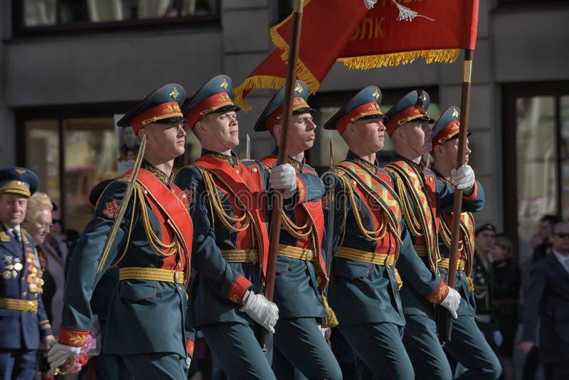 νίκη της Πετρούπολης ST παρελάσεων στοκ φωτογραφία