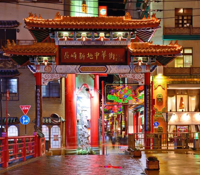 Ναγκασάκι Chinatown στοκ εικόνες