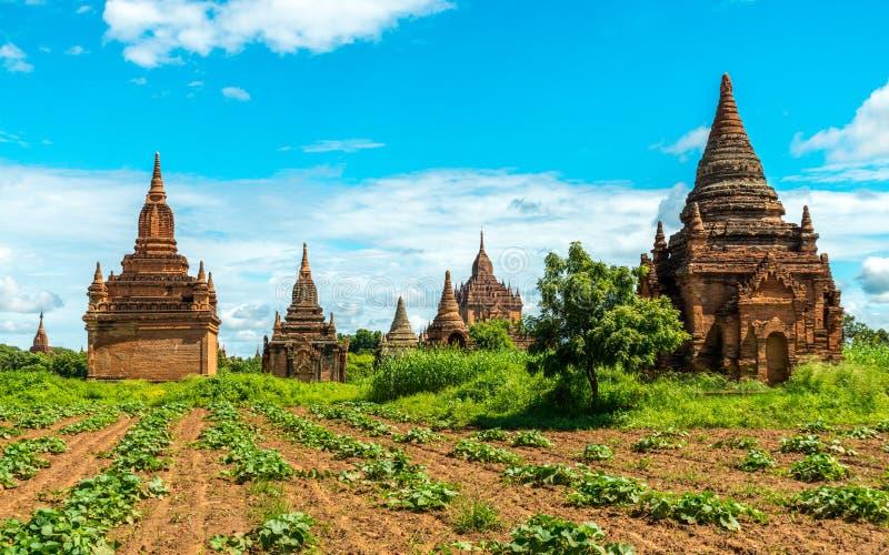 Ναοί Bagan, το Μιανμάρ στοκ εικόνες με δικαίωμα ελεύθερης χρήσης