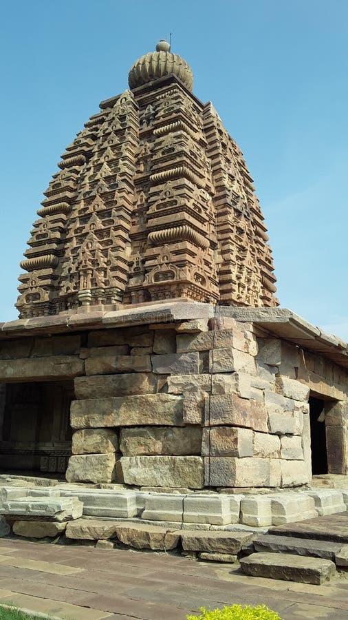 Ναοί Pattadakal και μνημεία, Karnataka στοκ φωτογραφίες με δικαίωμα ελεύθερης χρήσης