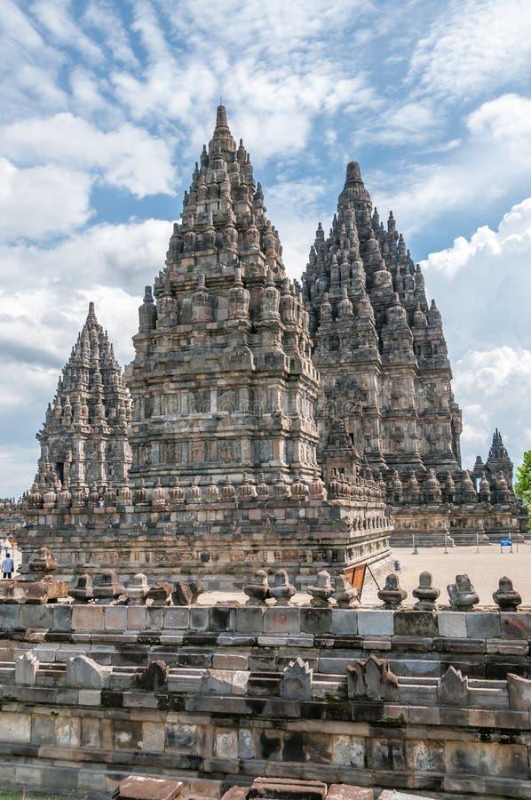 Ναοί Prambanan στοκ φωτογραφίες με δικαίωμα ελεύθερης χρήσης