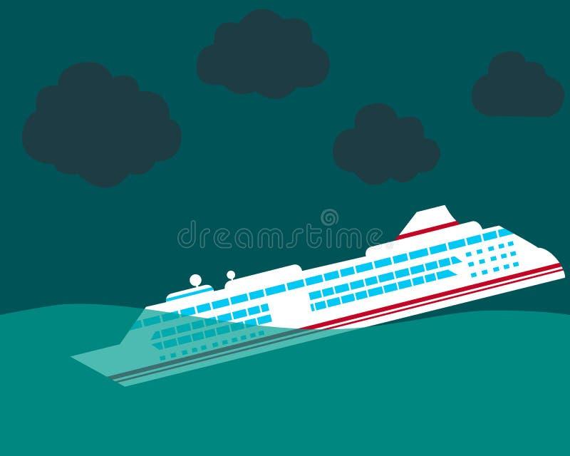 ναυάγιο ελεύθερη απεικόνιση δικαιώματος