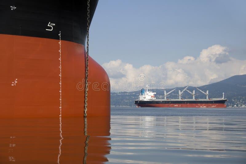ναυλωτές στοκ φωτογραφία