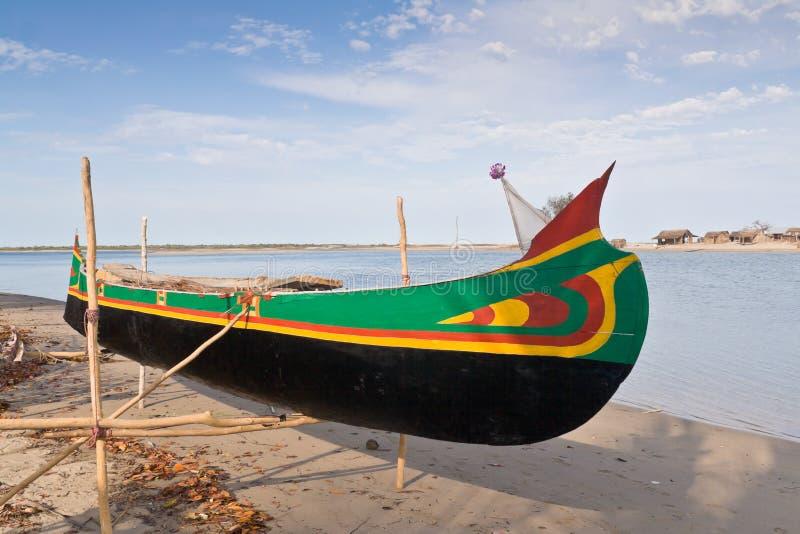 ναυπηγείο ζυγοστατών κανό στοκ εικόνες