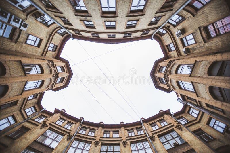 Ναυπηγείο καλά Αγία Πετρούπολη, Ρωσία στοκ φωτογραφία με δικαίωμα ελεύθερης χρήσης