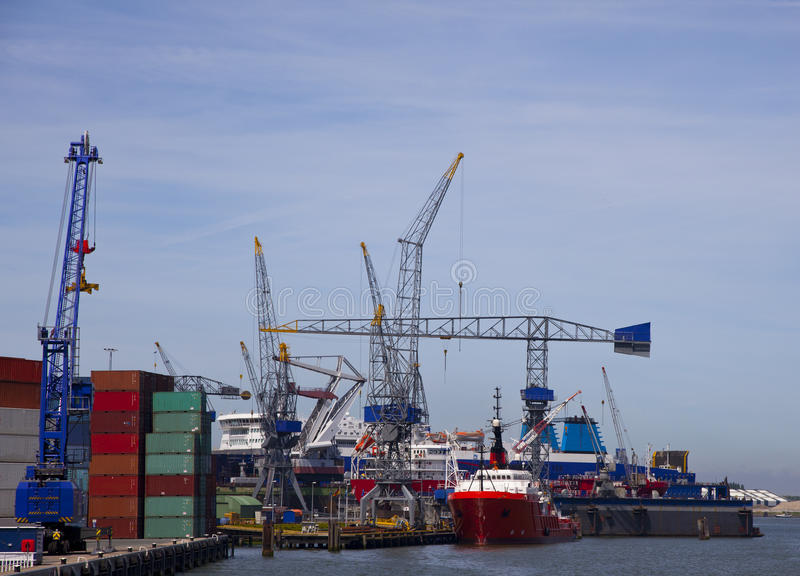 ναυπηγείο στοκ εικόνα