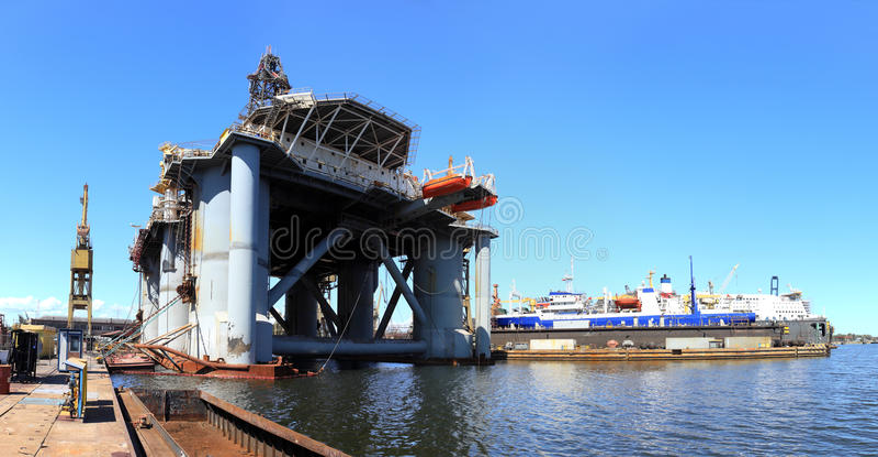 ναυπηγείο στοκ φωτογραφία