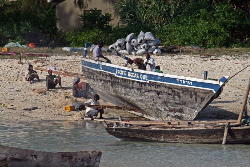 Ναυπηγείο Zanzibar στοκ φωτογραφία με δικαίωμα ελεύθερης χρήσης