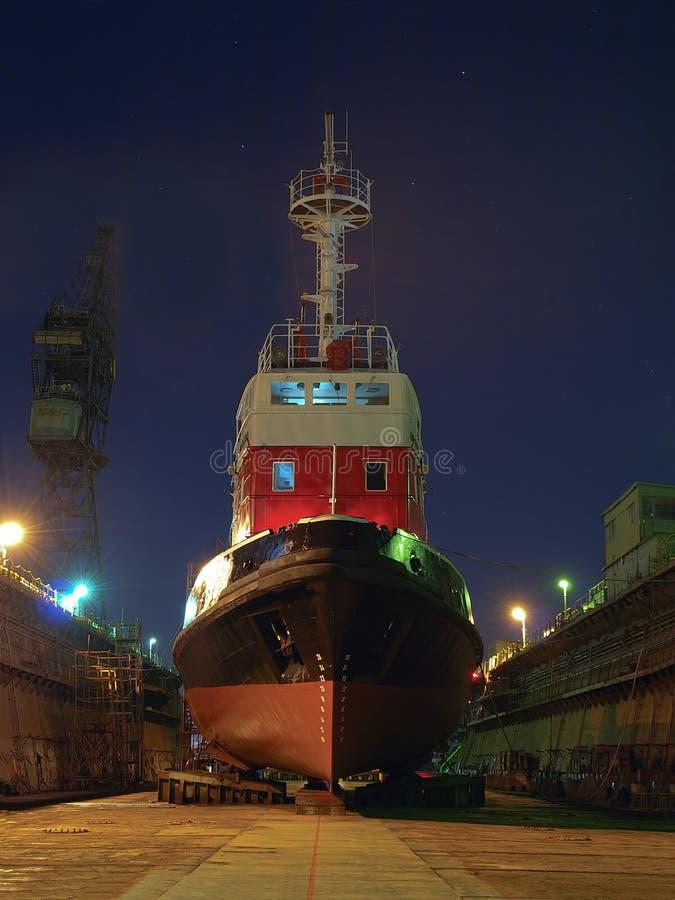 ναυπηγική σκαφών επισκευής στοκ φωτογραφία με δικαίωμα ελεύθερης χρήσης