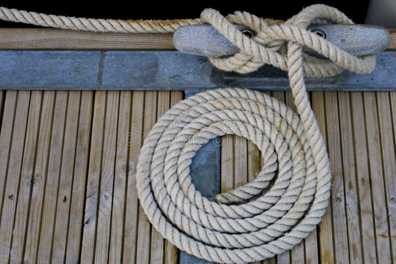 ναυσιπλοΐα σχοινιών στοκ εικόνες με δικαίωμα ελεύθερης χρήσης
