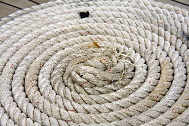 ναυσιπλοΐα σχοινιών στοκ φωτογραφία