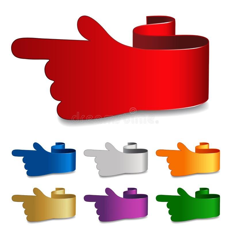 ναυσιπλοΐα χεριών απεικόνιση αποθεμάτων