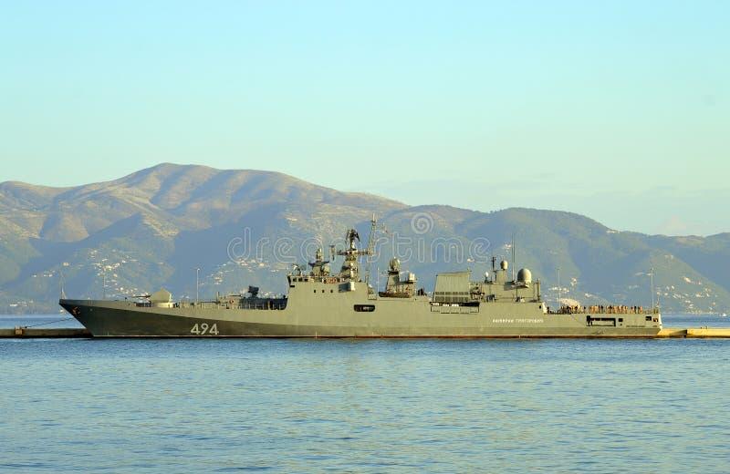 Ναυτική ναυαρχίδα δύναμης της ΕΕ, FS Siroco στοκ φωτογραφία με δικαίωμα ελεύθερης χρήσης