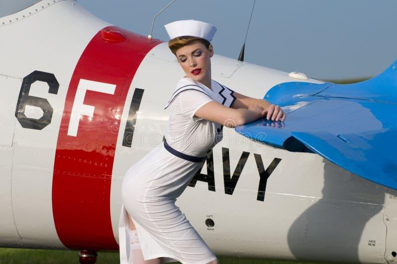 ναυτικό αεροσκαφών στοκ φωτογραφίες